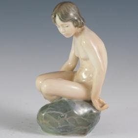 "Royal Copenhagen Porcelain ""4027"" Figurine"