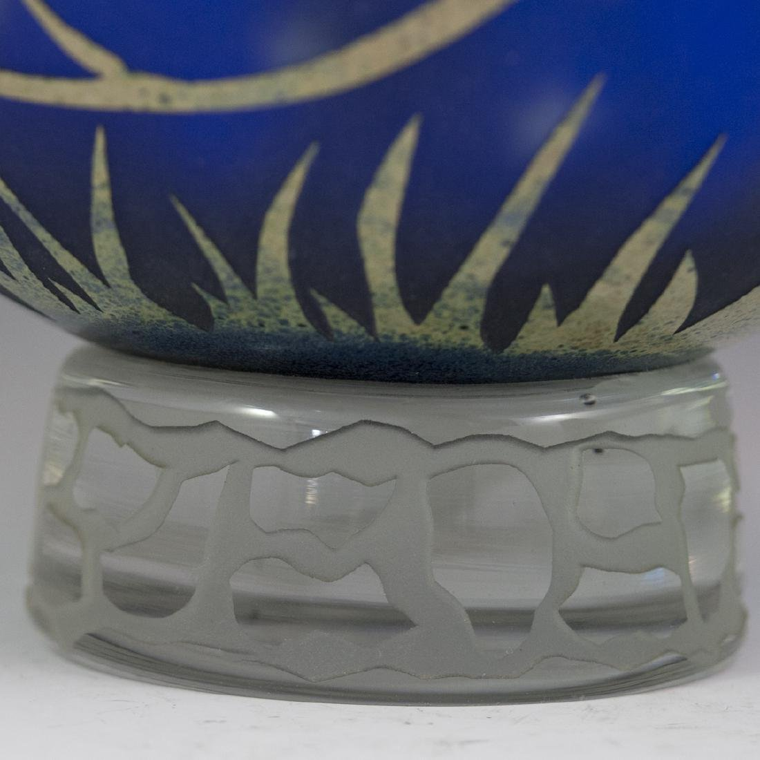 Large Duncan McClellan Art Glass Vase - 2