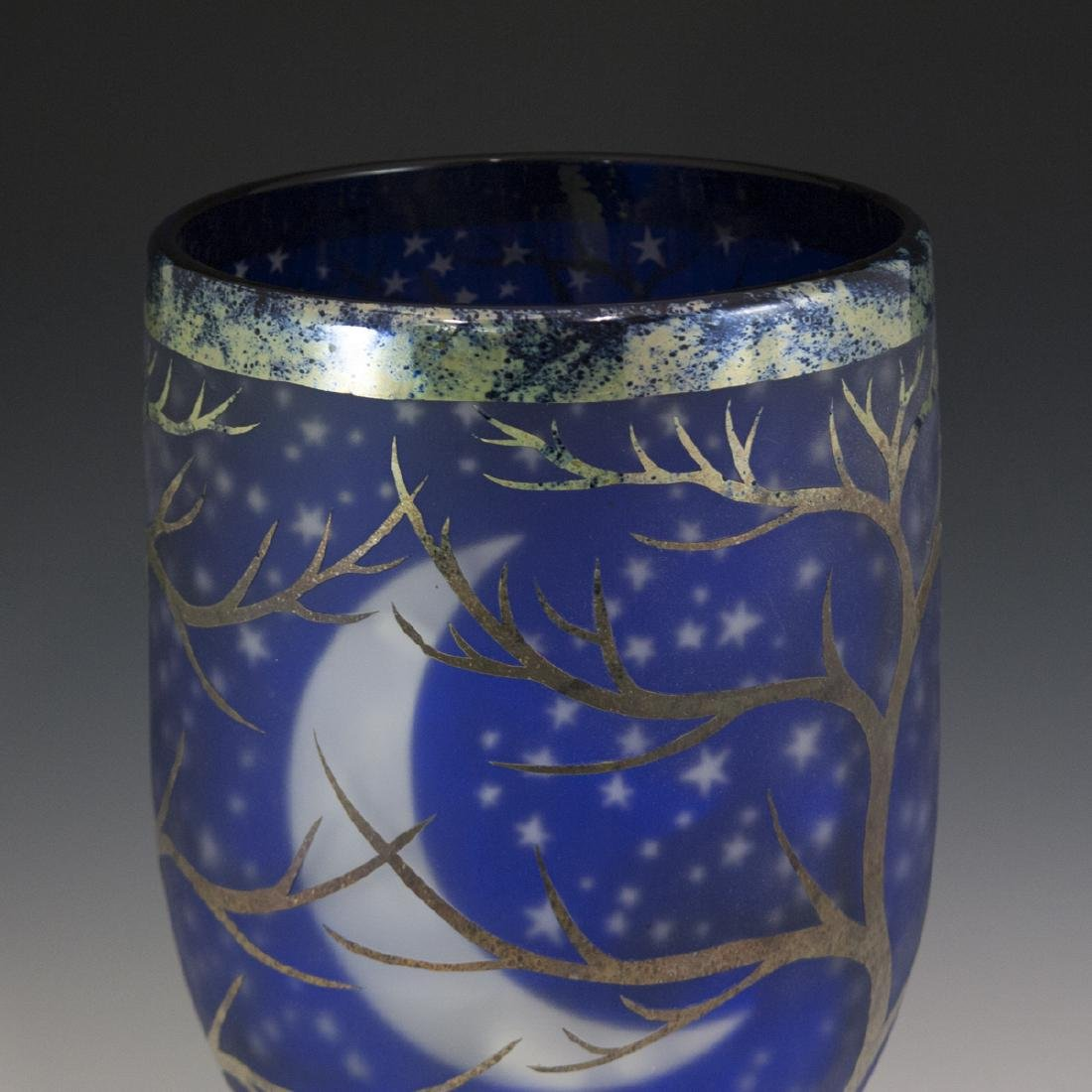 Large Duncan McClellan Art Glass Vase - 4