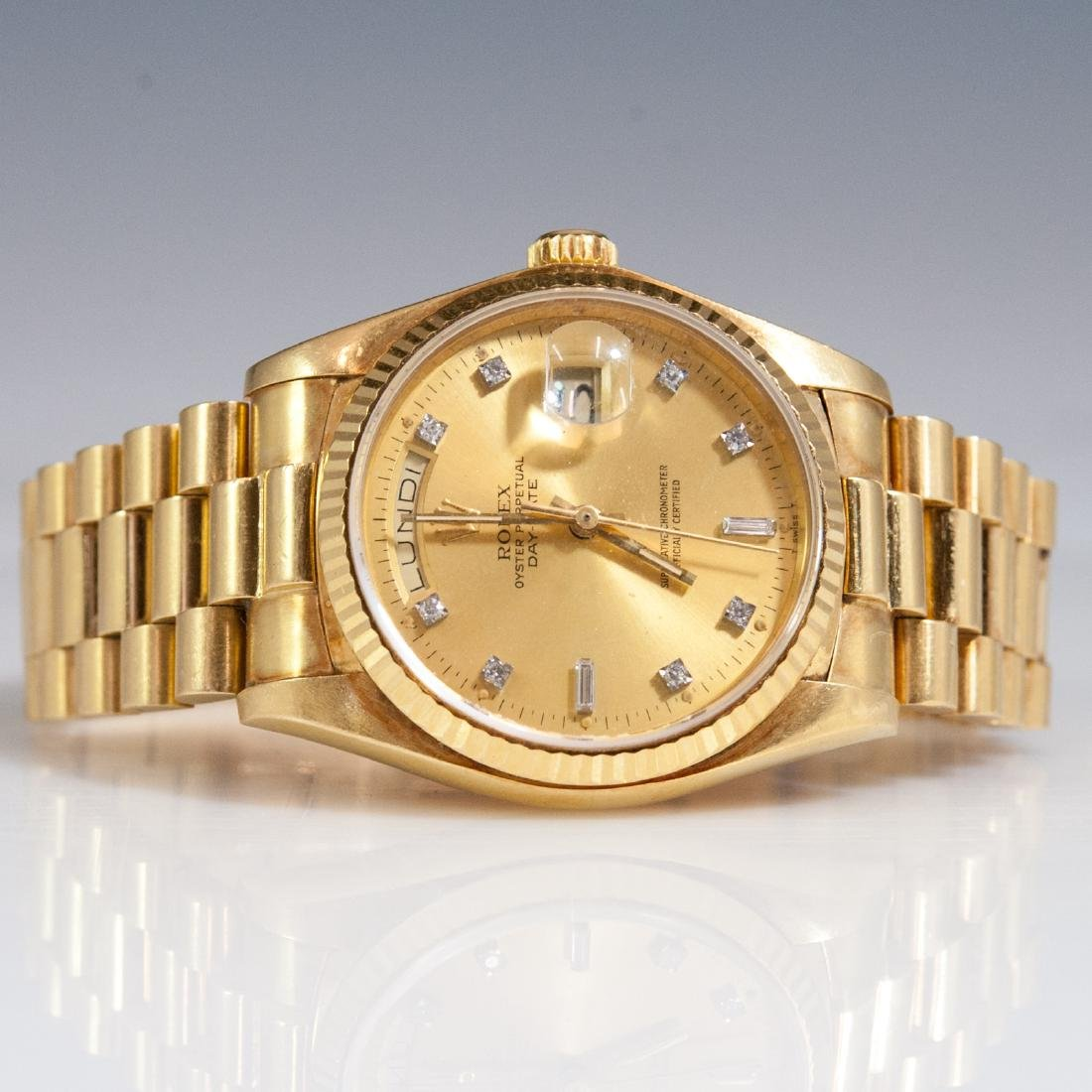Rolex 18kt Gold Oyster Perpetual Day Date - 2