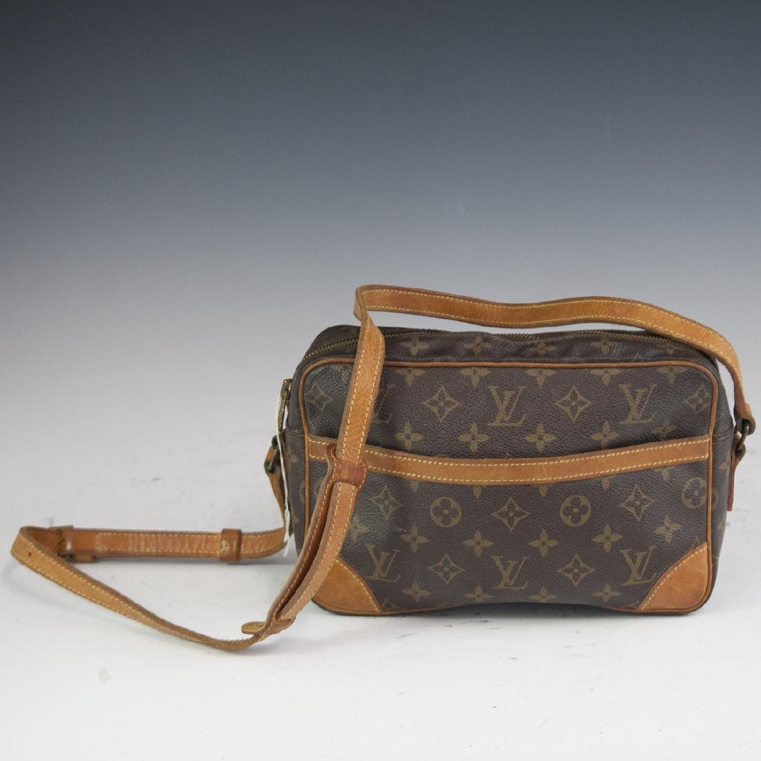 Louis Vuitton Canvas Trocadero Cross Body Bag