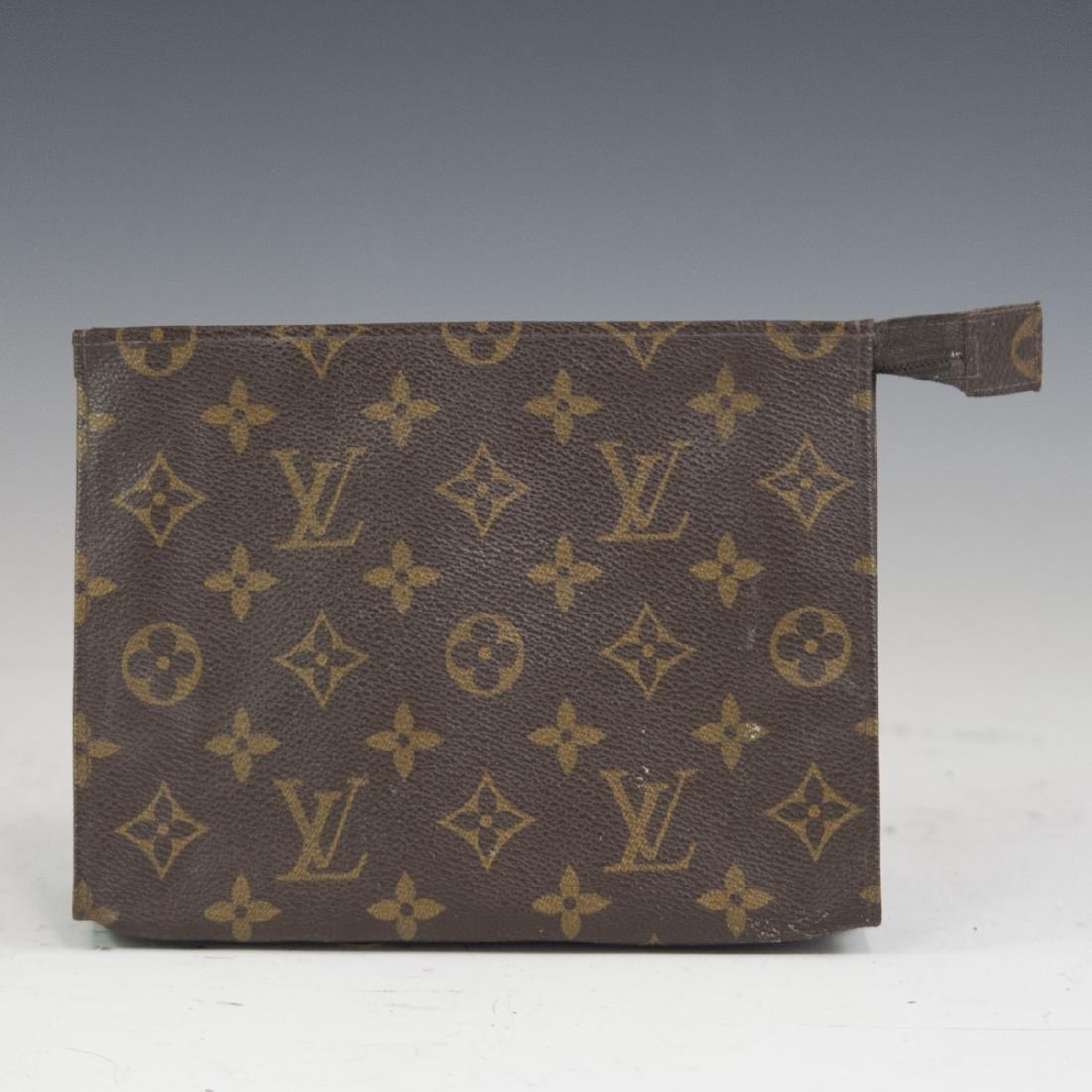 Louis Vuitton Canvas Clutch