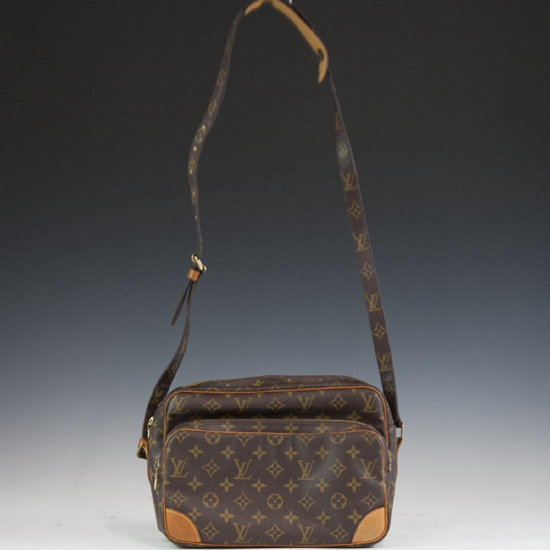 Louis Vuitton Canvas Nile Shoulder Bag