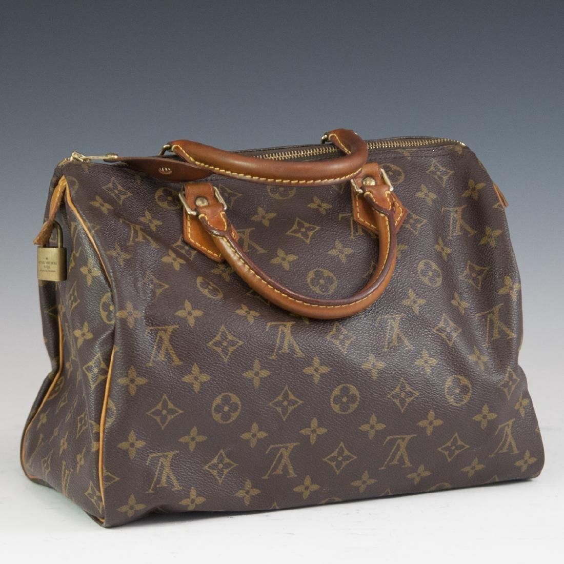 Louis Vuitton Canvas Speedy Purse