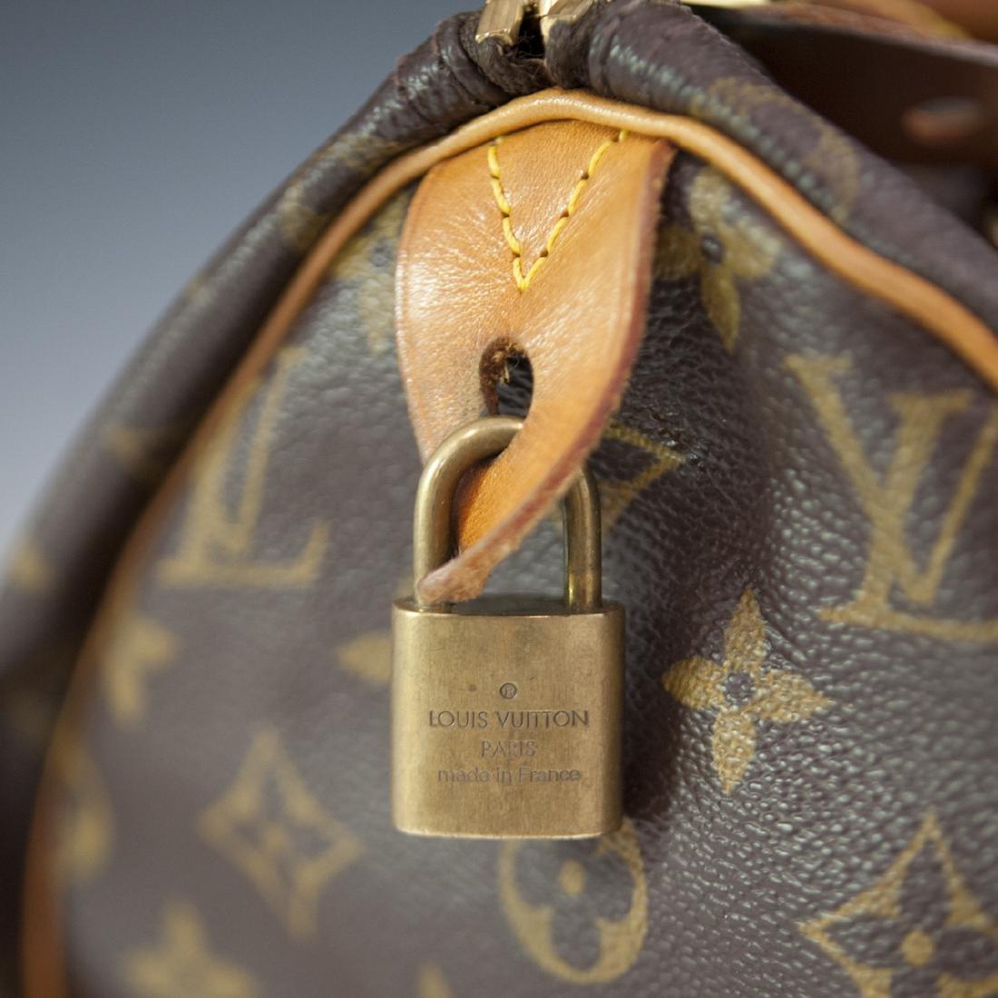 Louis Vuitton Canvas Speedy Purse - 2