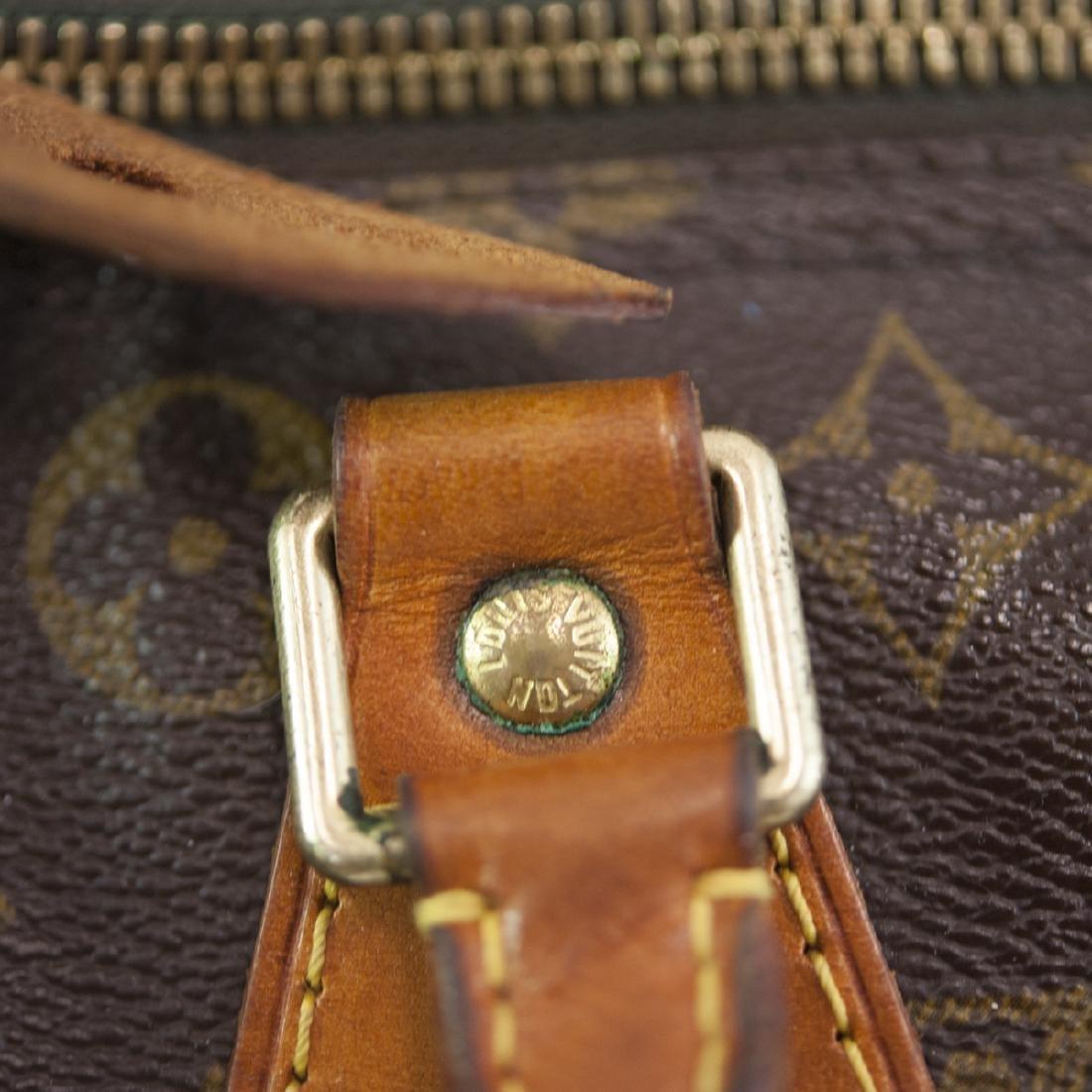 Louis Vuitton Canvas Speedy Purse - 4