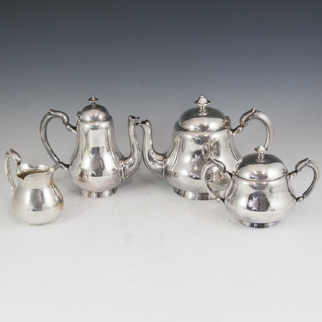 Antique Christofle Silverplated Tea Set