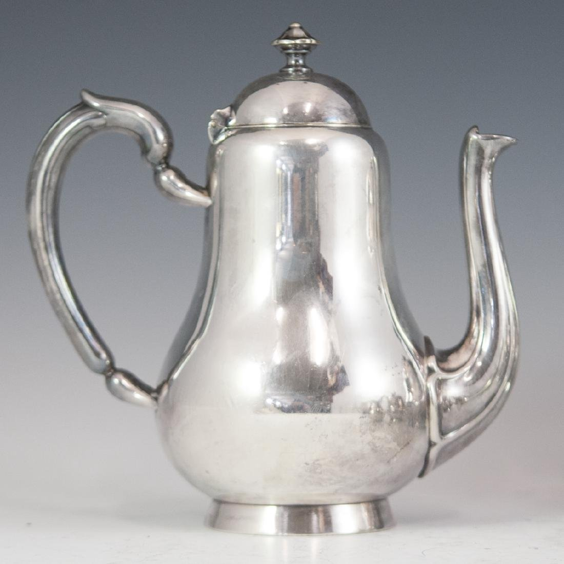 Antique Christofle Silverplated Tea Set - 2