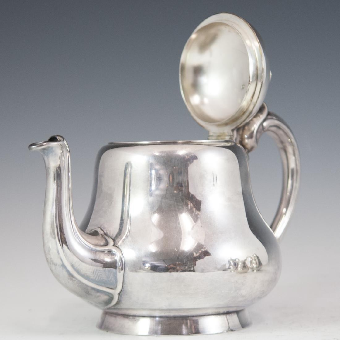 Antique Christofle Silverplated Tea Set - 4