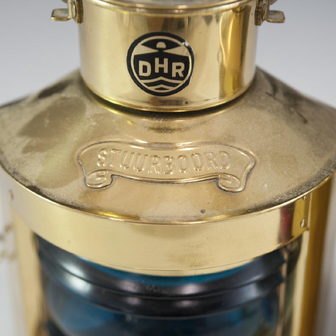 Den Haan Rotterdam Brass Marine Oil Lamps - 2