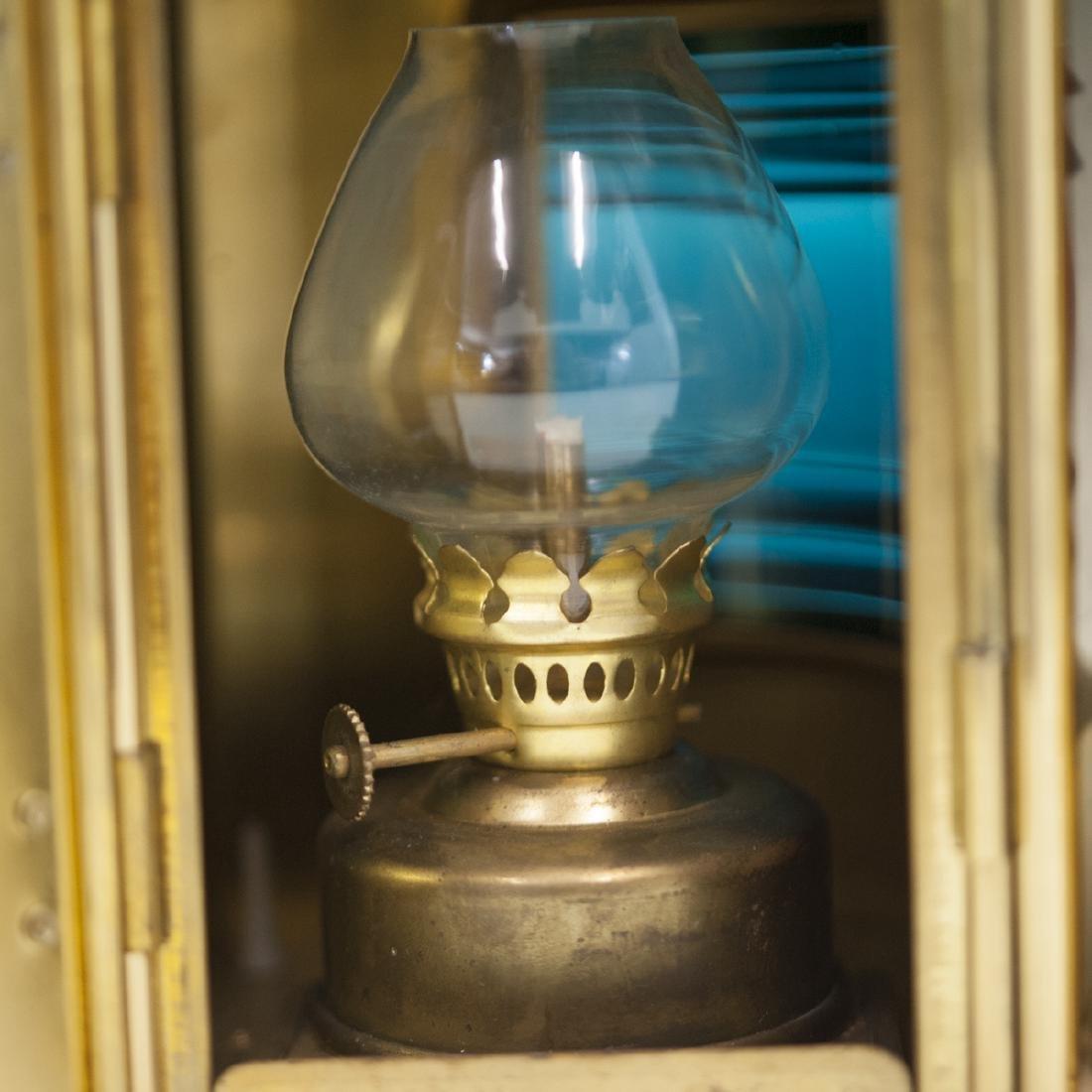 Den Haan Rotterdam Brass Marine Oil Lamps - 4