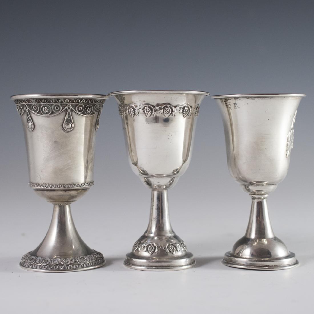 800 Silver Kiddush Cups