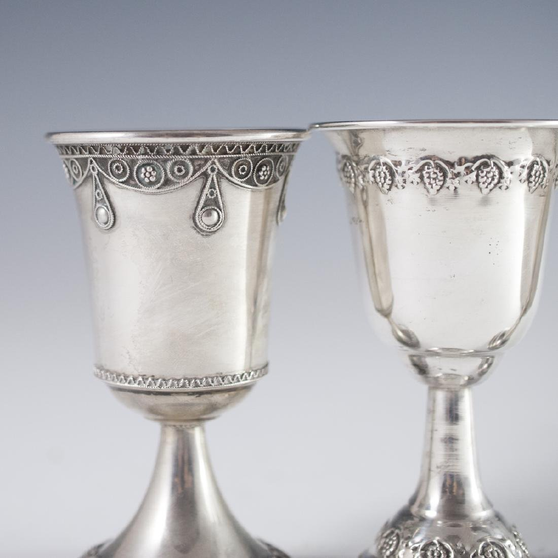 800 Silver Kiddush Cups - 4