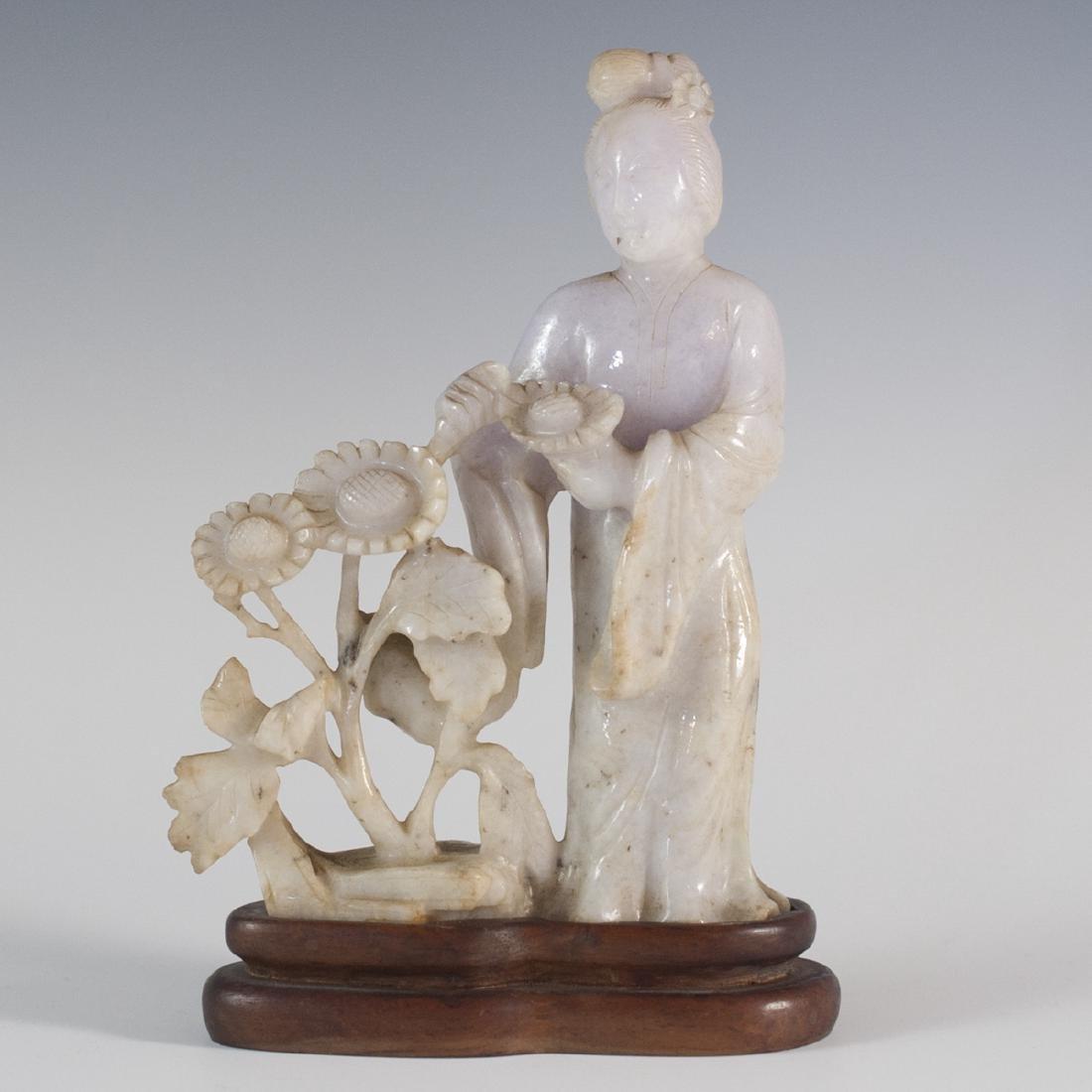 Lavender Jade Guanyin