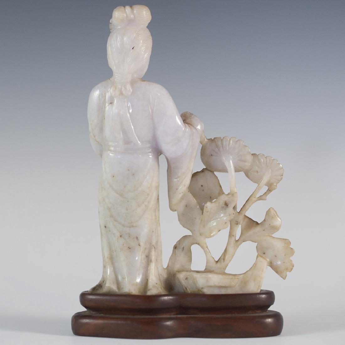Lavender Jade Guanyin - 2