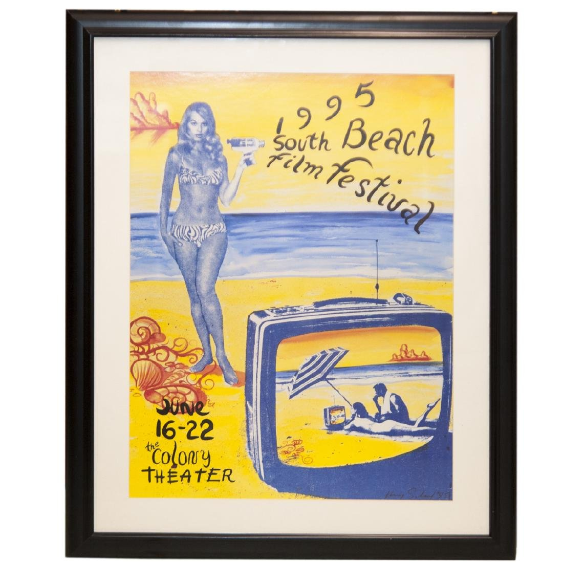 1995 South Beach Film Festival Poster