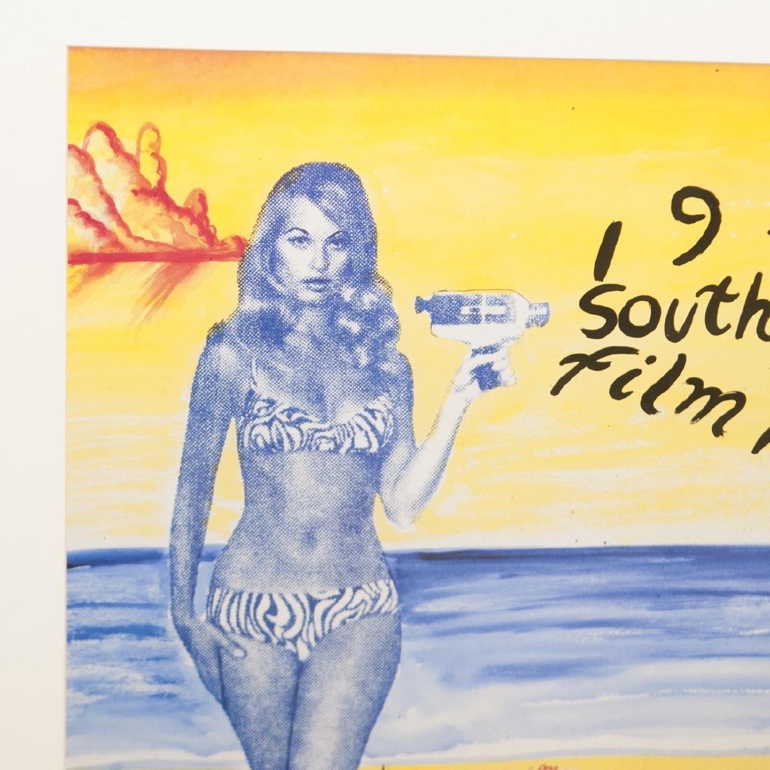 1995 South Beach Film Festival Poster - 2