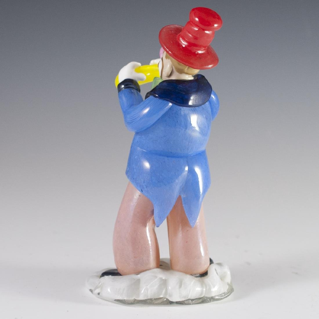 Bohemian Glass Clown Figurine - 2
