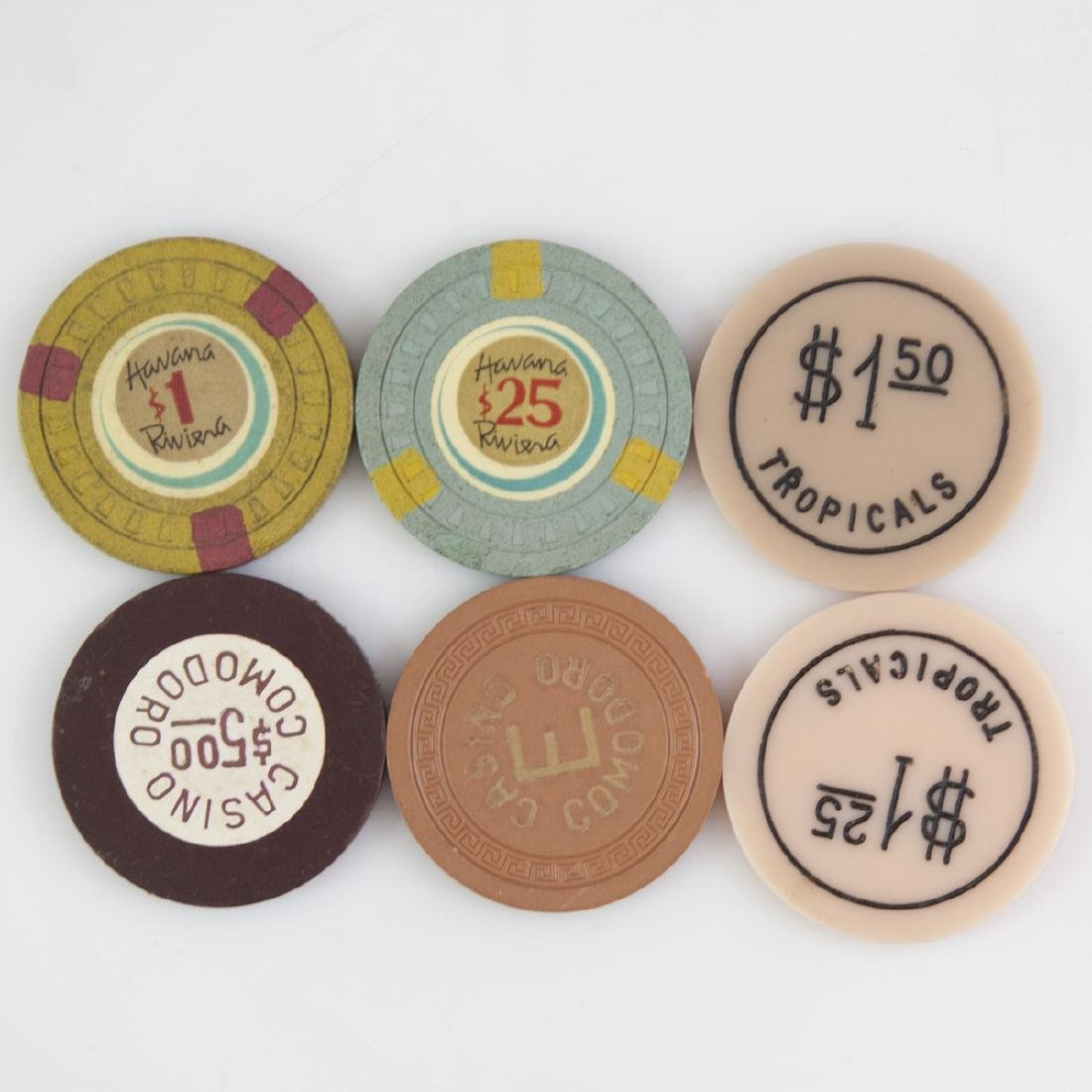Vintage Poker Chip Collection - 2