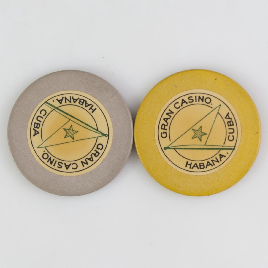 Gran Casino Habana Cuba Chips - 2