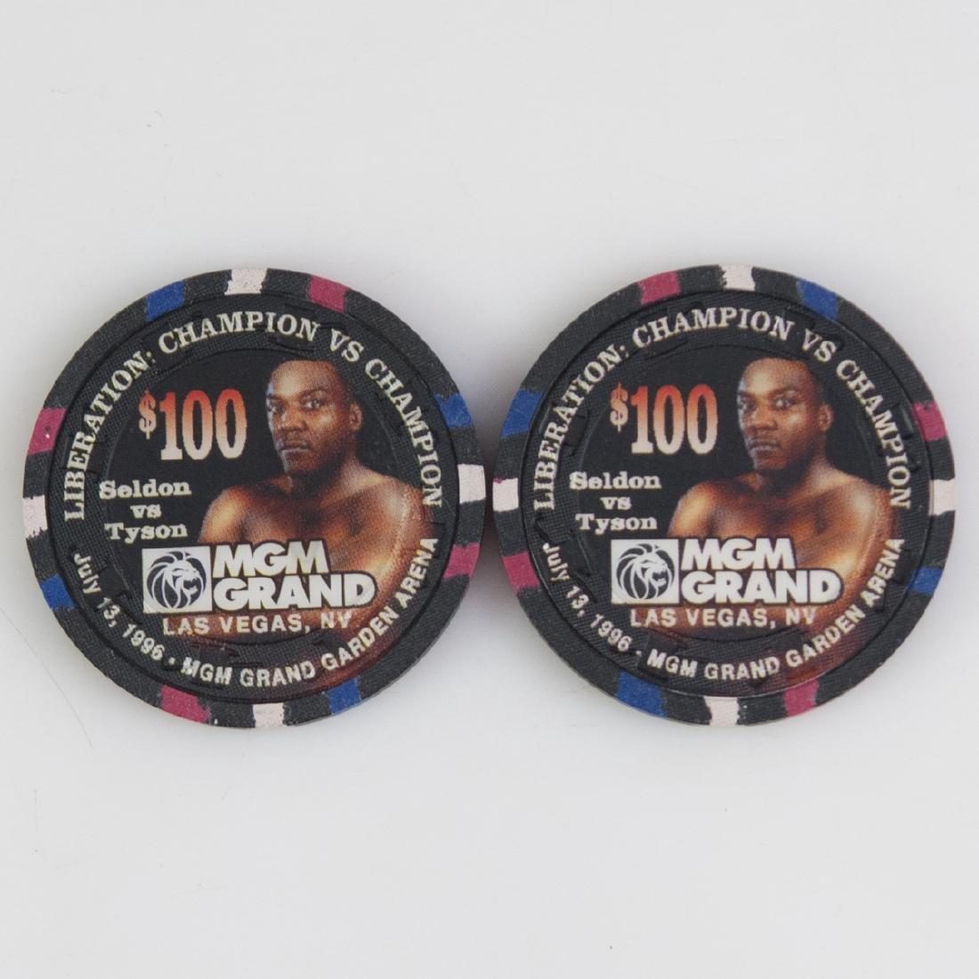 """MGM Grand 1996 """"Liberation: Champion Vs. Champion"""" - 2"""