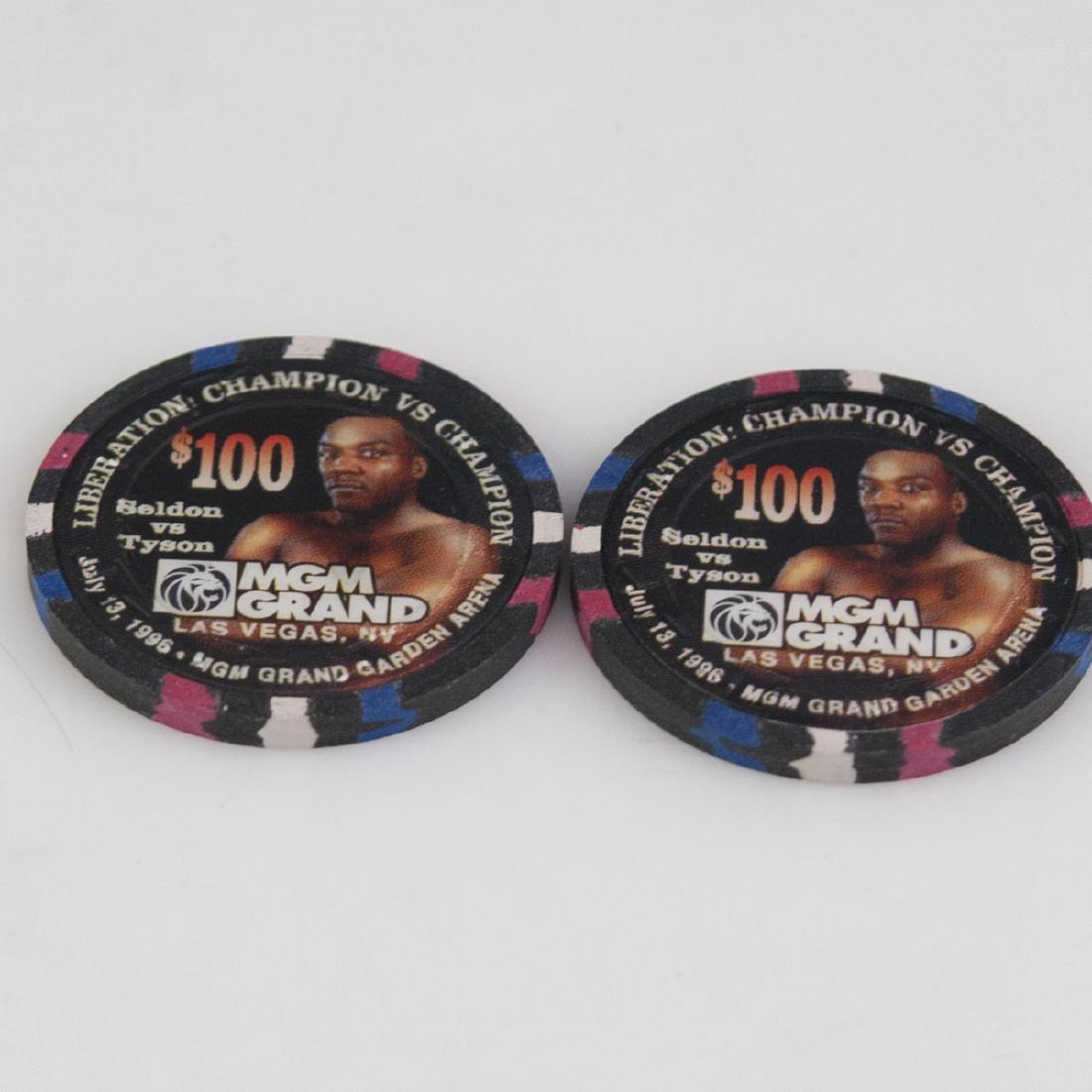 """MGM Grand 1996 """"Liberation: Champion Vs. Champion"""" - 3"""