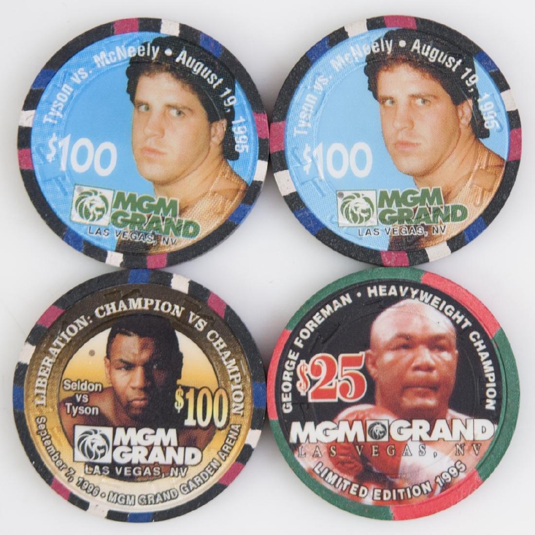 MGM Grand Casino Chips - 2