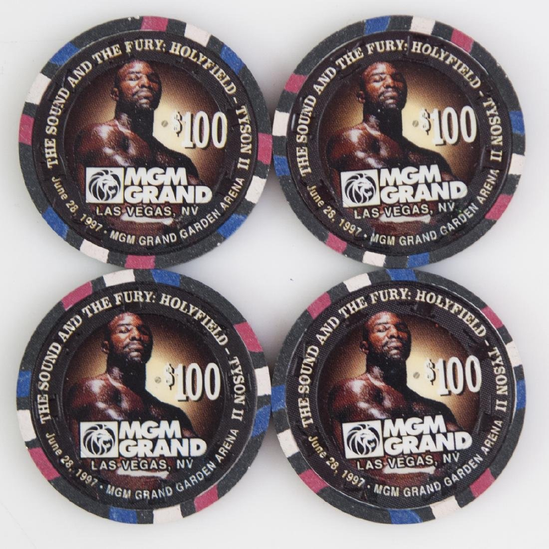 """MGM Grand 1997 """"The Sound And The Fury"""" Chips - 2"""