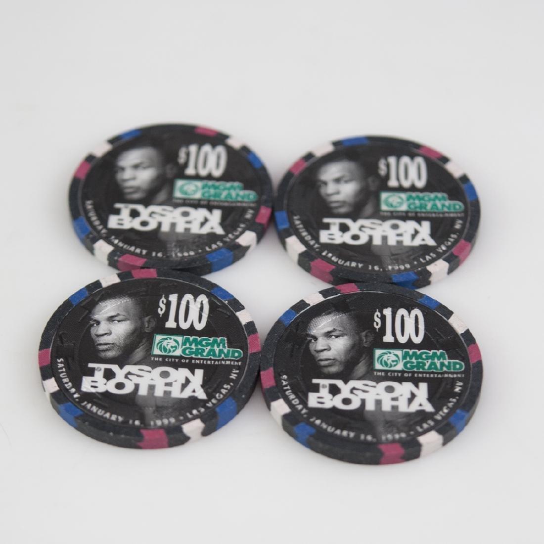 "MGM Grand 1999 ""Tyson Botha"" Chips - 3"