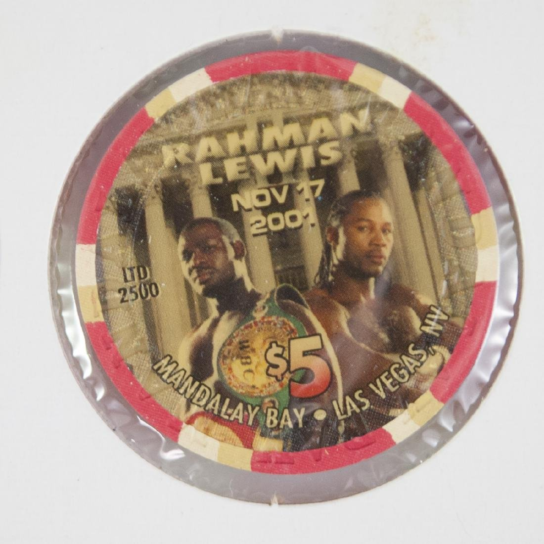 "Mandalay Bay Limited Edition ""Rahman Vs. Lewis"" Chips - 2"