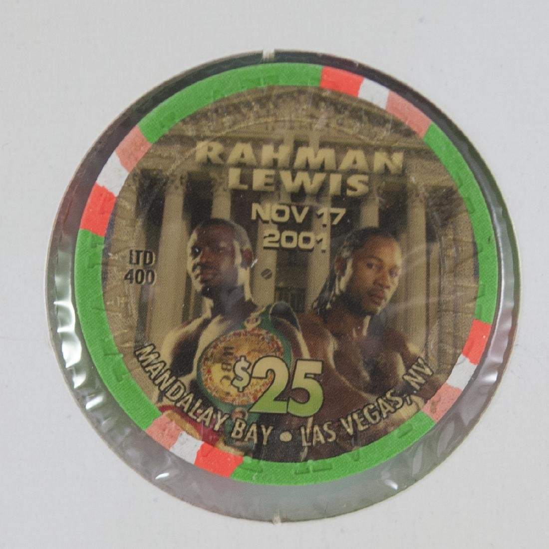 "Mandalay Bay Limited Edition ""Rahman Vs. Lewis"" Chips - 3"