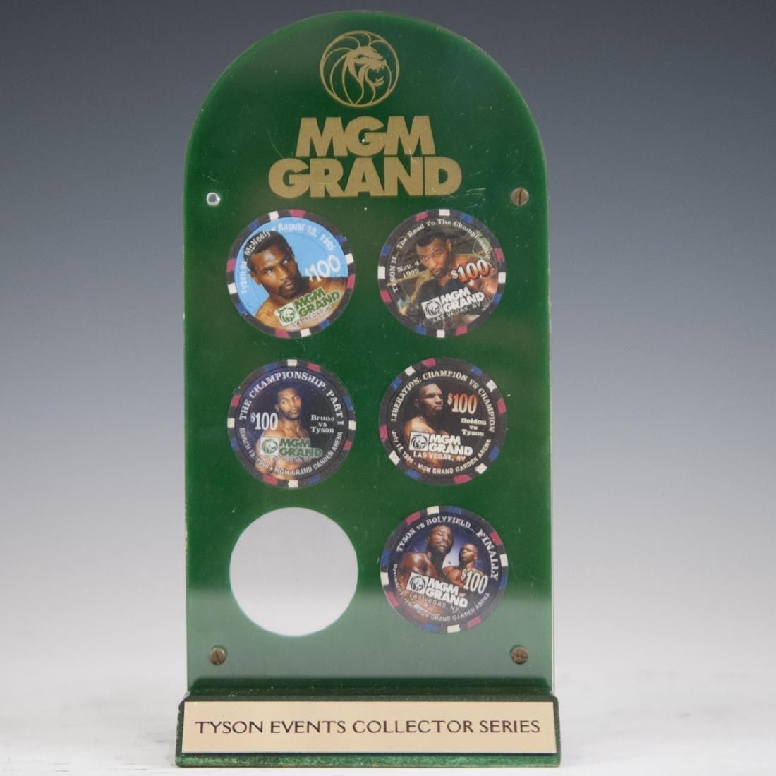 MGM Grand Casino Mike Tyson Chip Set