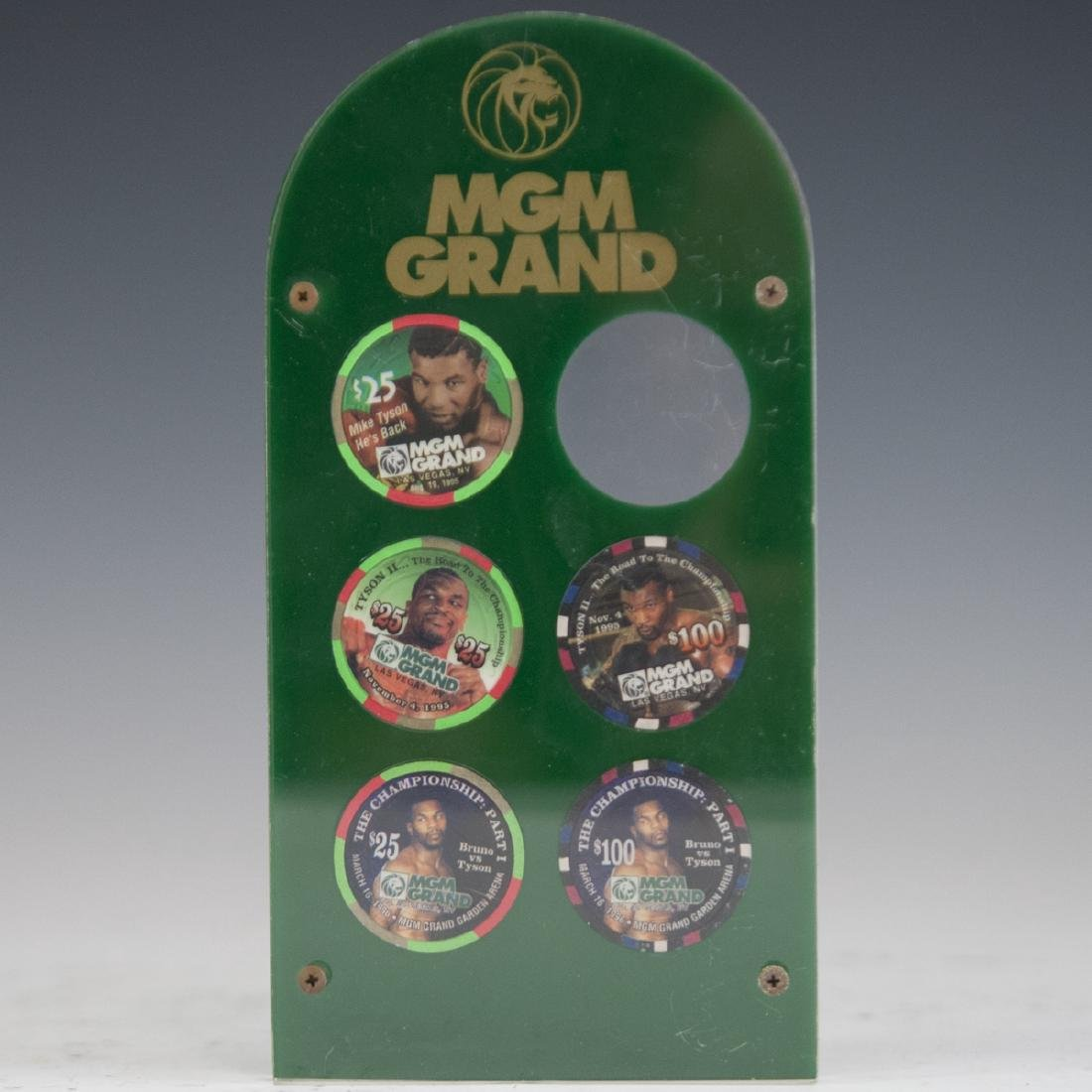 MGM Grand Casino Mike Tyson Chip Set