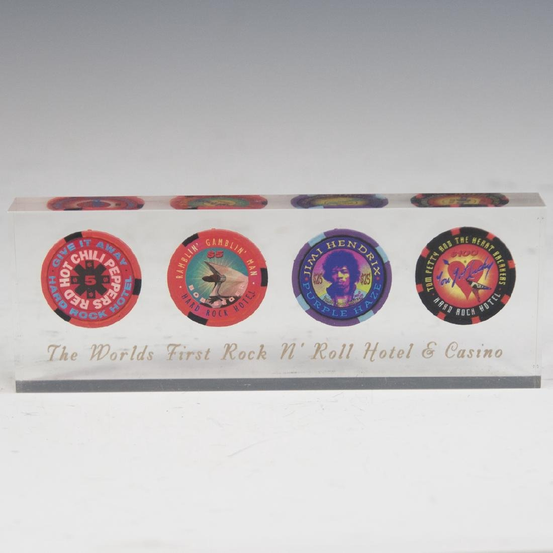 Hard Rock Hotel Casino Chip Set