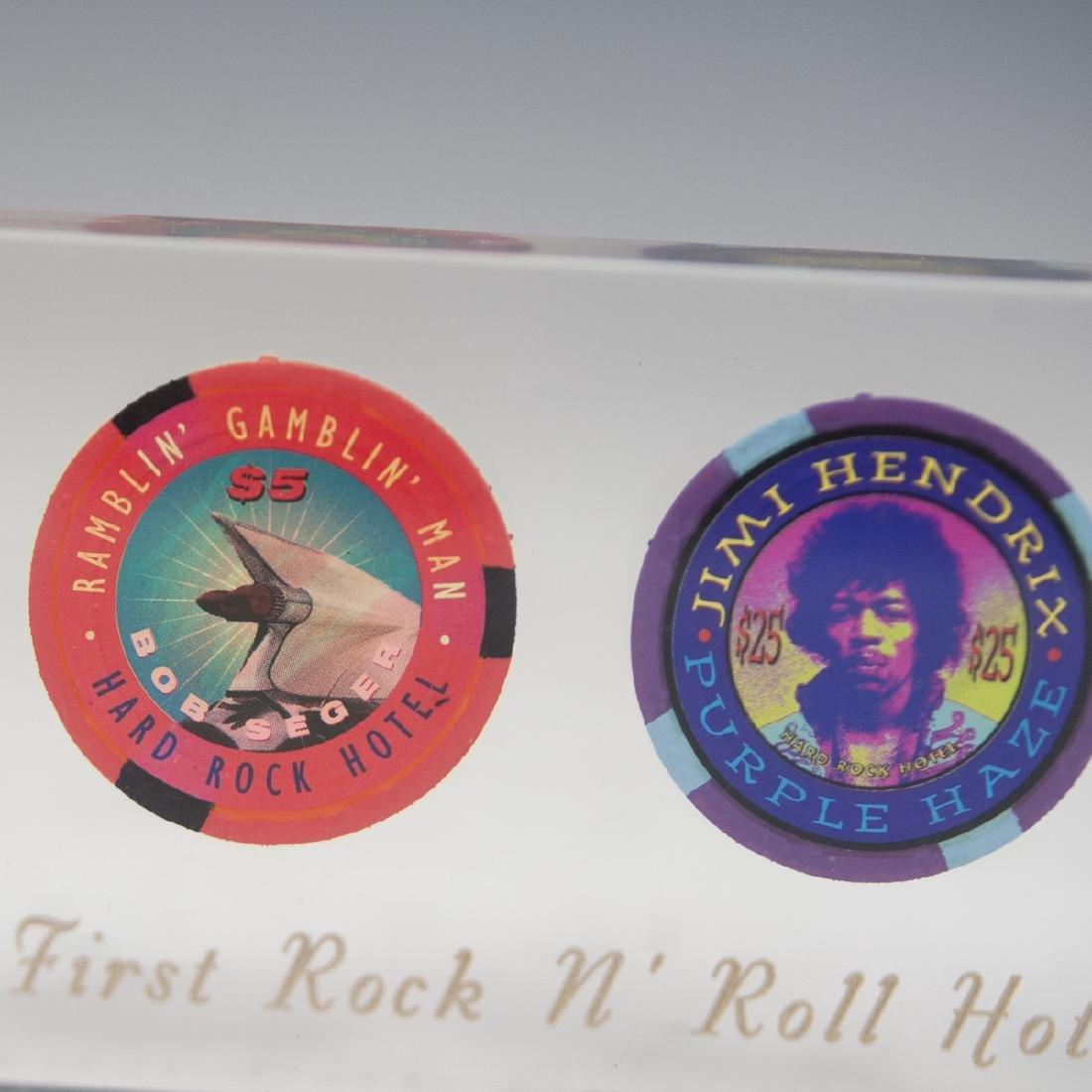 Hard Rock Hotel Casino Chip Set - 3