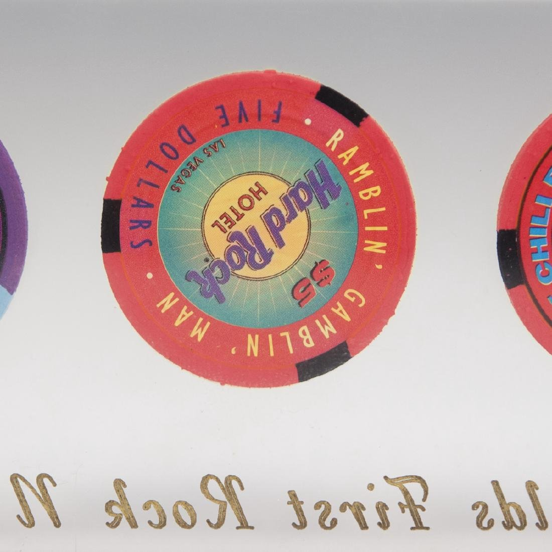 Hard Rock Hotel Casino Chip Set - 5