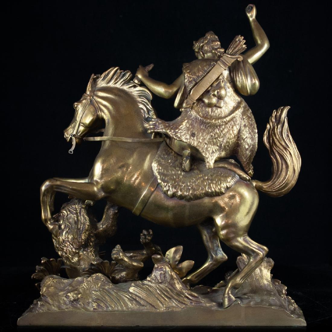 Antique Dore Bronze Neo-Classical Sculpture - 3