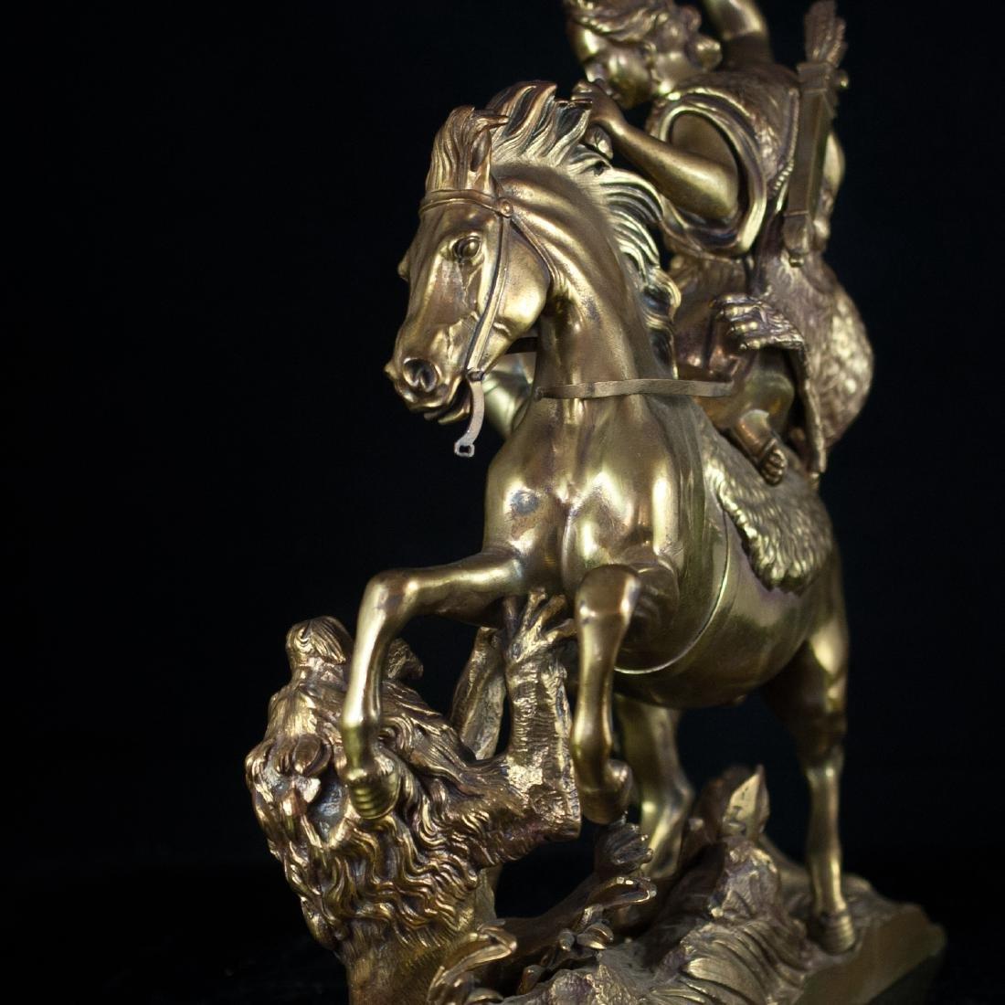 Antique Dore Bronze Neo-Classical Sculpture - 4