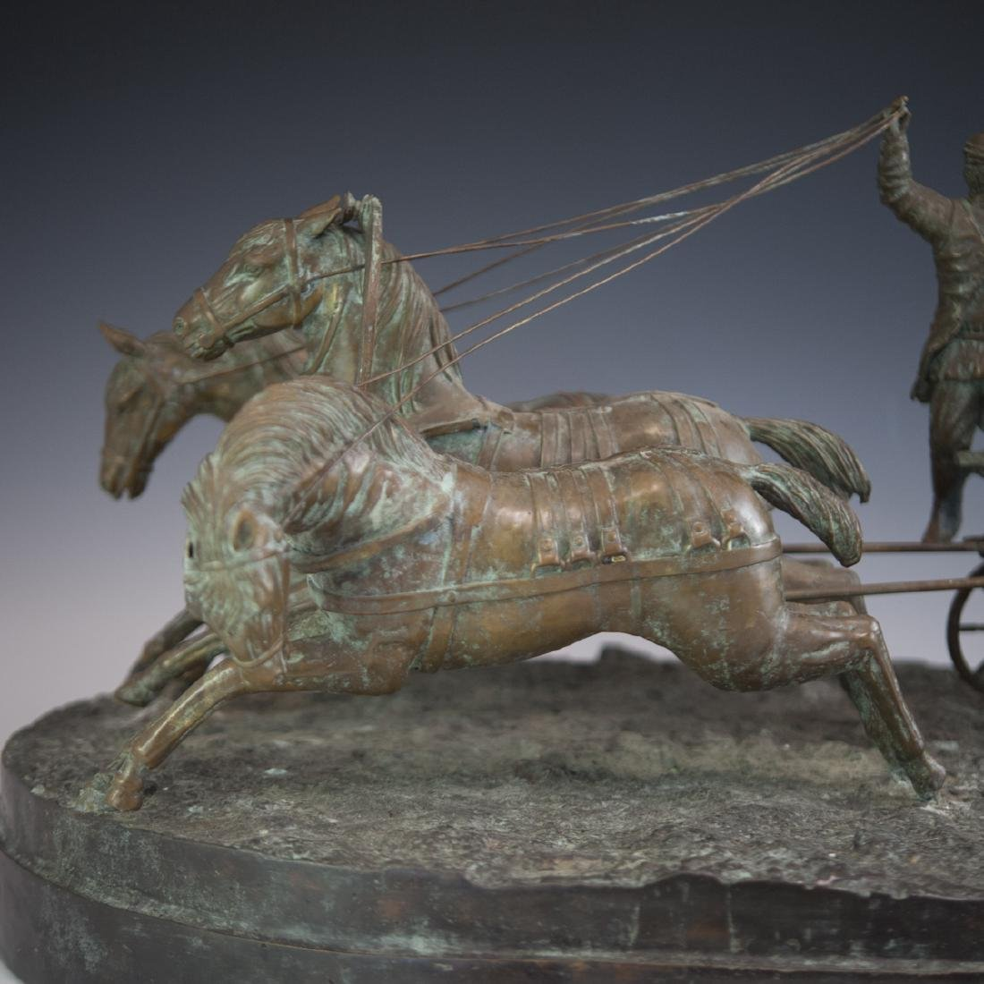 Antique Russian Figural Bronze Sculpture - 6
