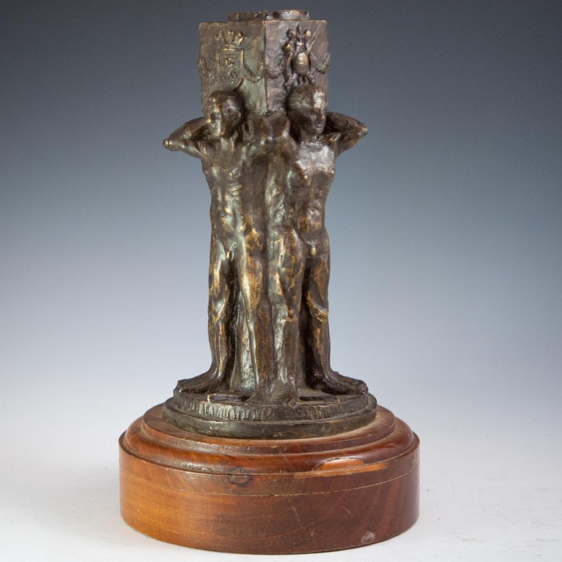Bronze Signed Sculpture