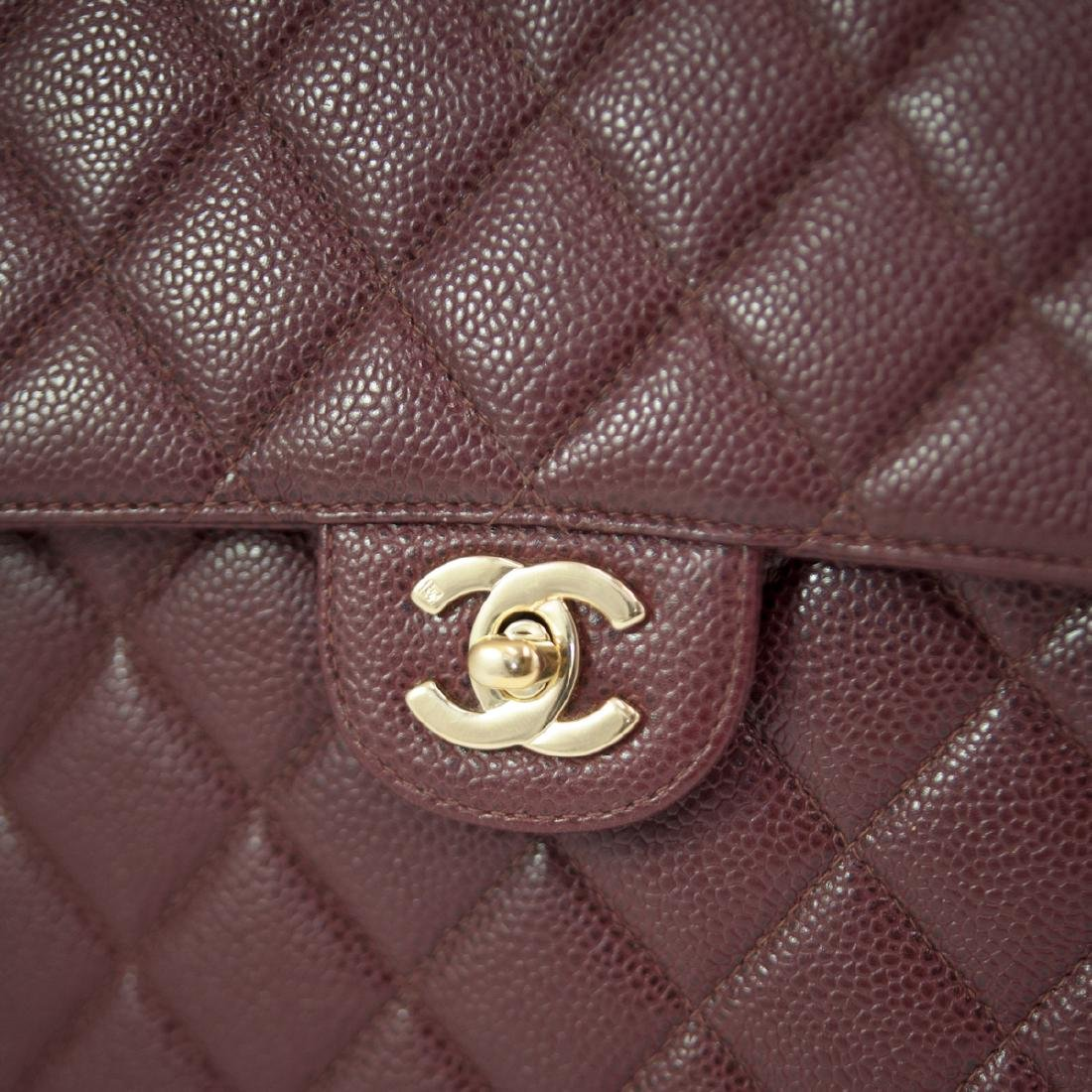 Chanel Caviar Leather Flap Bag - 4
