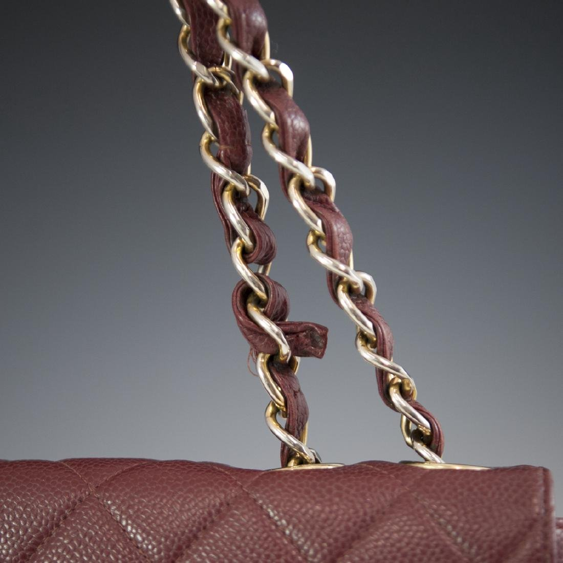 Chanel Caviar Leather Flap Bag - 5