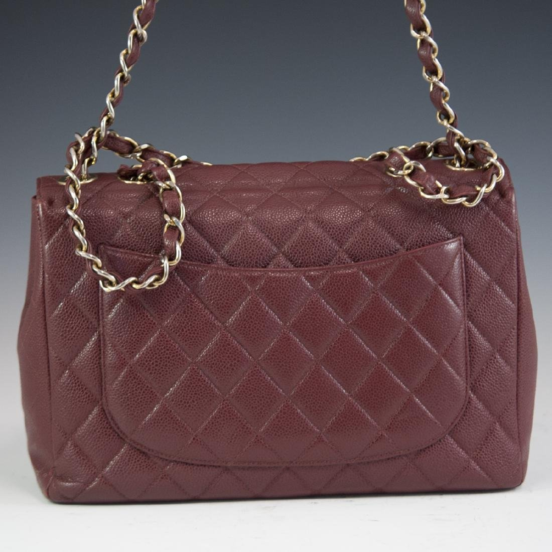 Chanel Caviar Leather Flap Bag - 7