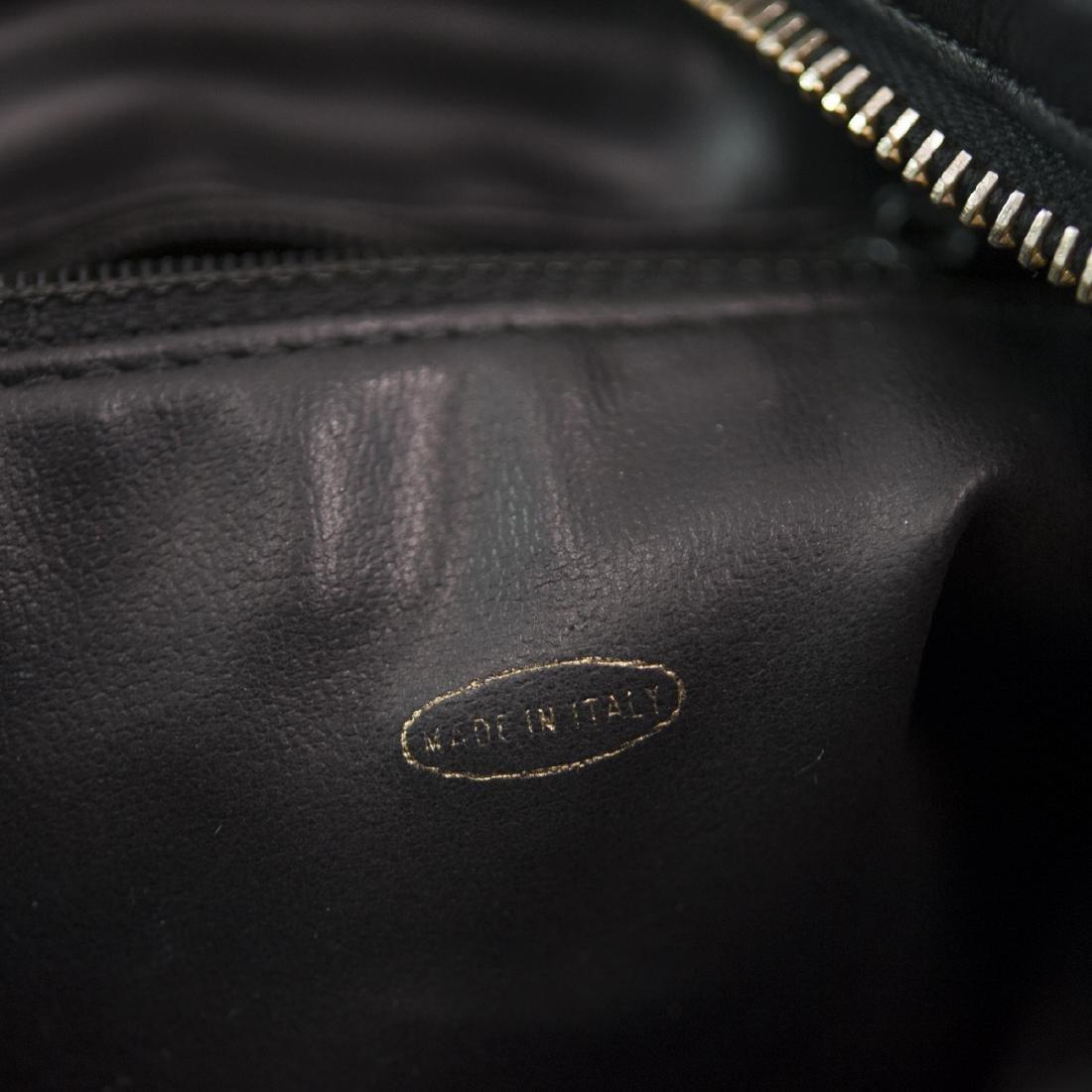 Chanel Black Leather Purse - 3