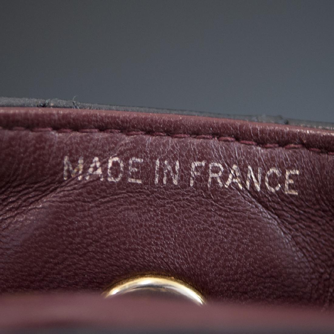 Chanel Mini Black Leather Flap Bag - 3