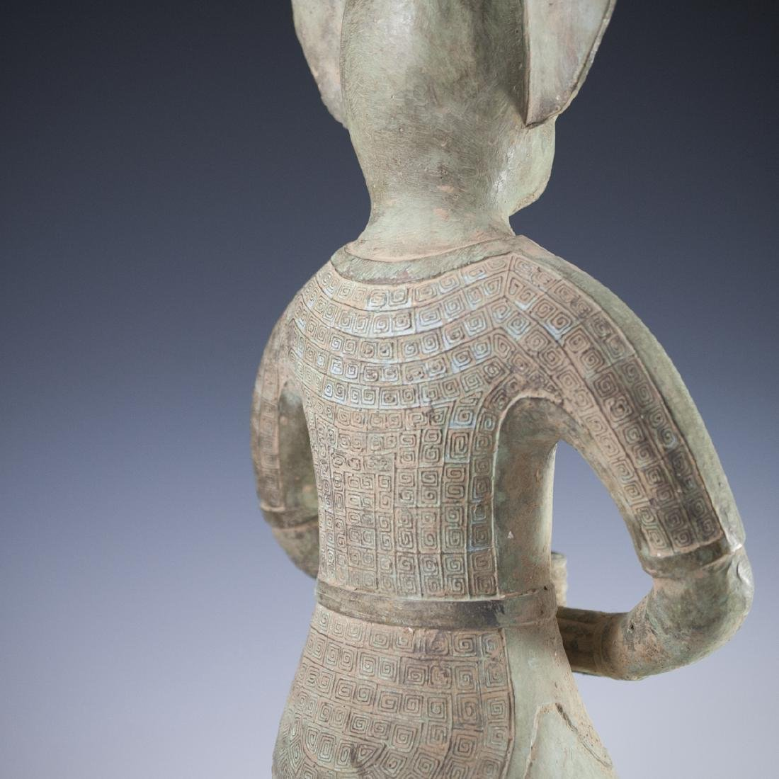 Sanxingdui Bronze Figure - 5