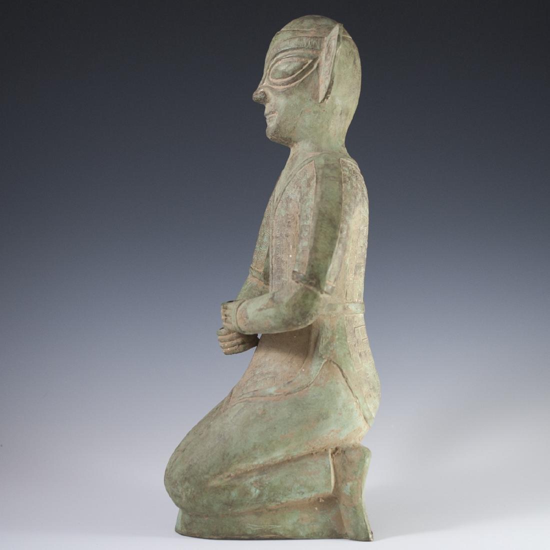 Sanxingdui Bronze Figure - 6