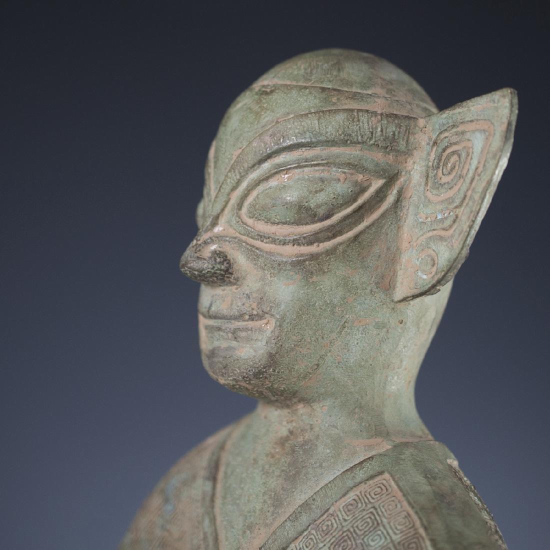 Sanxingdui Bronze Figure - 7