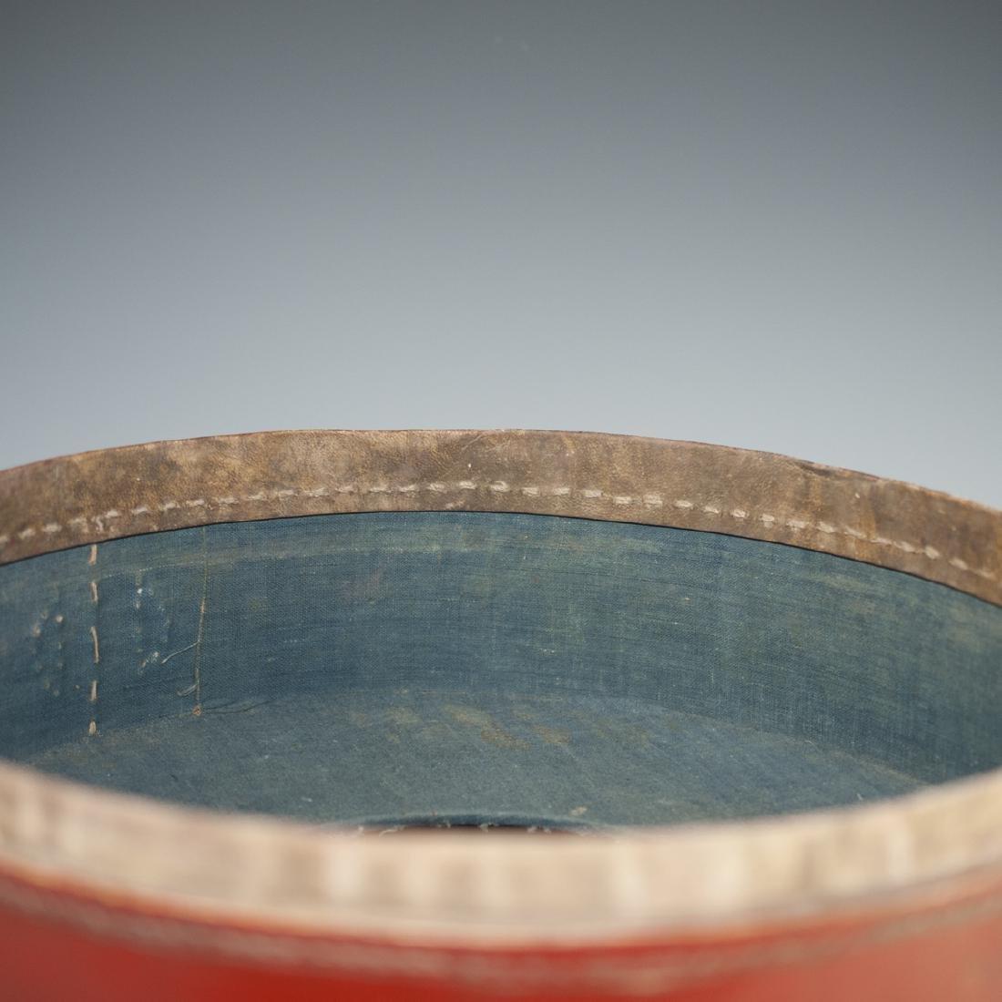 Antique Chinese Papier Mache Hat Box - 5