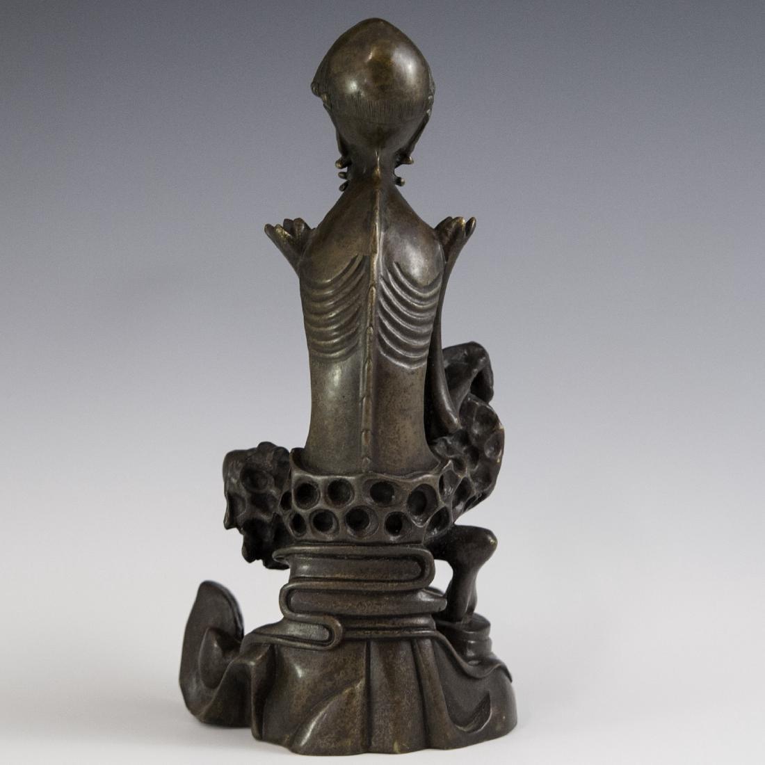 Chinese Bronze Luohan - 2